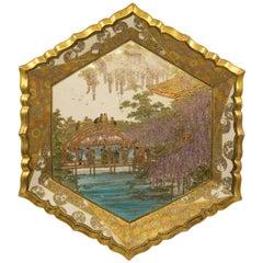 Late Meiji Period Hozan Signed Satsuma Charger