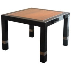 Late Midcentury Pair of Coffee Side Tables  from Italy, 1970s