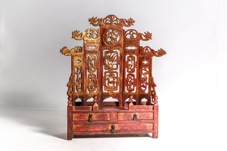 Late-Qing Dynasty Ancestral Shrine For Sale 6