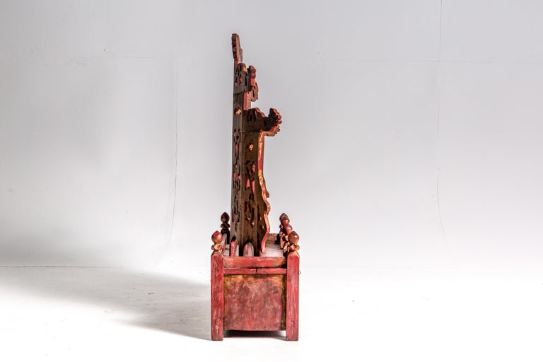 Late-Qing Dynasty Ancestral Shrine For Sale 3