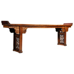 Late Qing Dynasty Chinese Altar Table