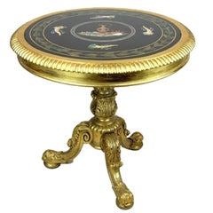 Late Regency Giltwood Centre Table Attributed to Gillows