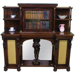 Late Regency Period Rosewood Chiffonier