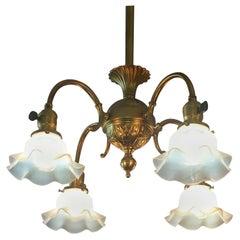 Art Nouveau Chandeliers and Pendants