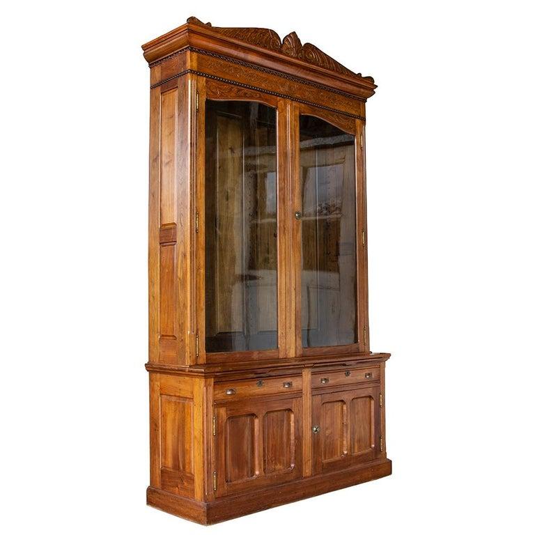 19th Century Late Victorian Bookcase For Sale