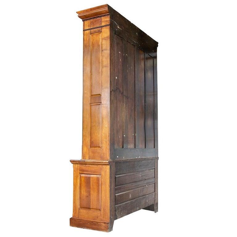 Ash Late Victorian Bookcase For Sale