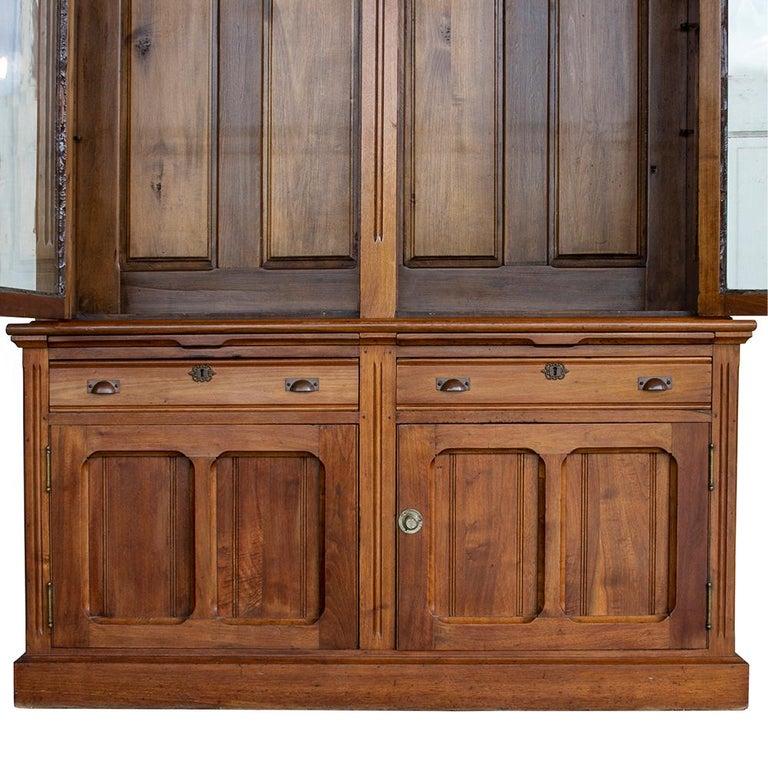 Late Victorian Bookcase For Sale 1