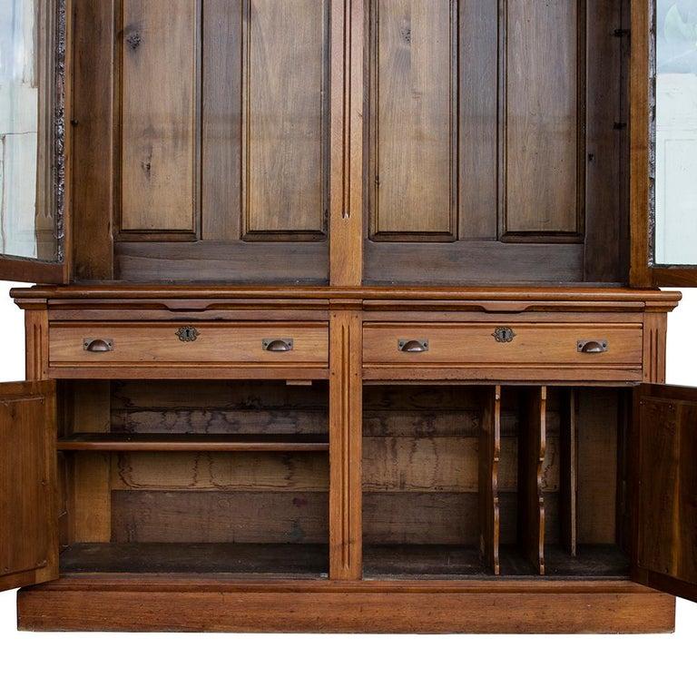 Late Victorian Bookcase For Sale 2