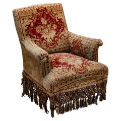Late Victorian Carpet Chai, England, circa 1880