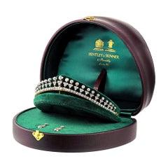 Late Victorian Diamond-Set Tiara
