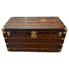 Late Victorian Louis Vuitton Courier Trunk 1896 with Provenance