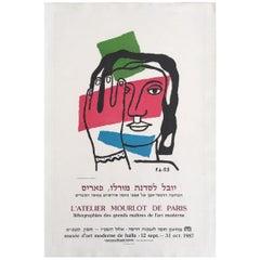 L'atelier Mourlot de Paris 1989 Original Vintage Poster