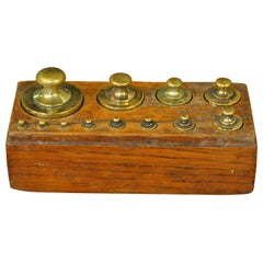 Later 19th Century French Set of Scale Weights