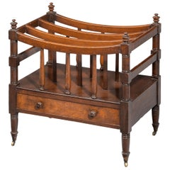 Later Regency Period Mahogany Canterbury