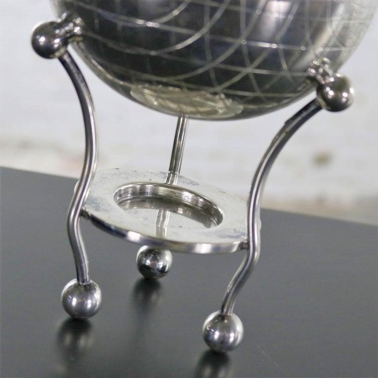 Latham & Morton Silver Plate Egg Warmer Globe Orb Shape Victorian For Sale 6