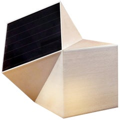 Latitude Light, 3D Printed Contemporary Solar-Powered Translucent, Customizable