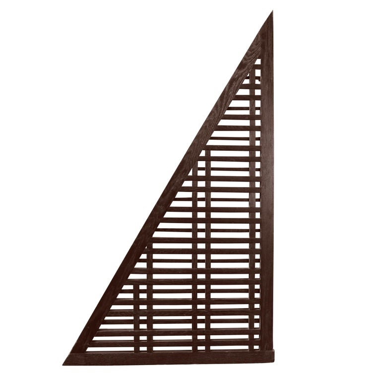 Lattice Window Panel from the Oak Park Country Club For Sale