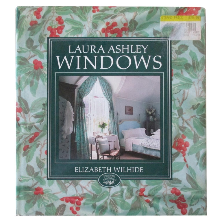Laura Ashley Windows Hardcover Book For Sale