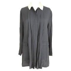 Laura Biagiotti Blue Beige Short Blouse Dress