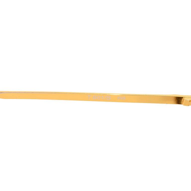Laura Biagiotti Gold Rim Vintage Sunglasses Frames For Sale 7