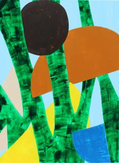 """""""Lush"""" - Colorful Non-Objective Painting - Bold Shapes - Sonia Delaunay"""