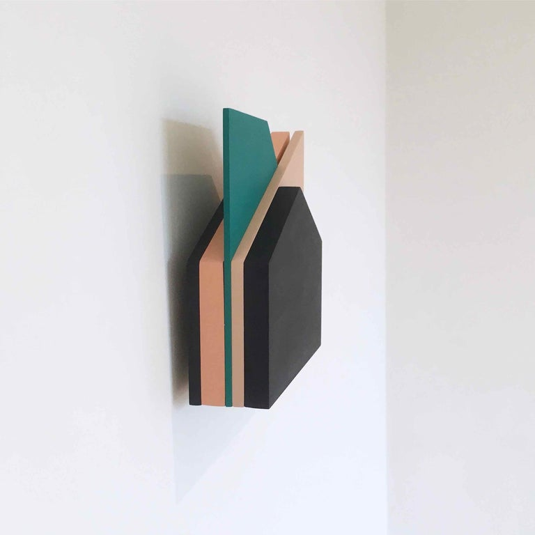 'Perspective Study 006': A Sculptural Abstract Painting by Laura Jane Scott For Sale 3