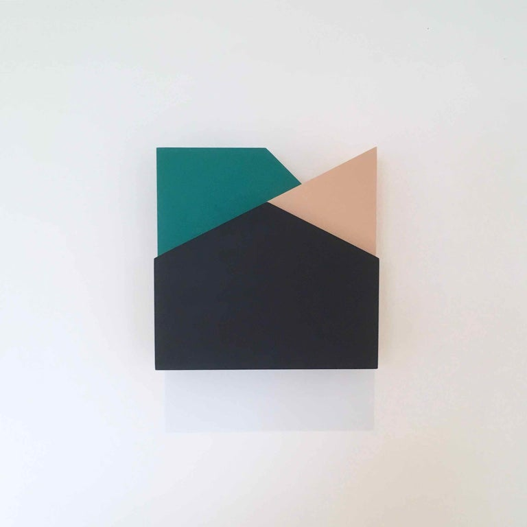'Perspective Study 006': A Sculptural Abstract Painting by Laura Jane Scott For Sale 4