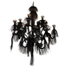"Laura Kirar, ""Pájaro Negro"" Contemporary Chandelier, Mexico, 2019"