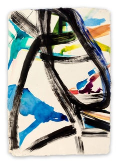 Calligraph (Abstract Expressionism painting)