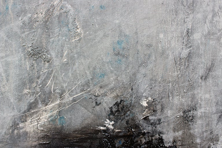 Have you seen the moon tonight?, Painting, Acrylic on Canvas For Sale 1