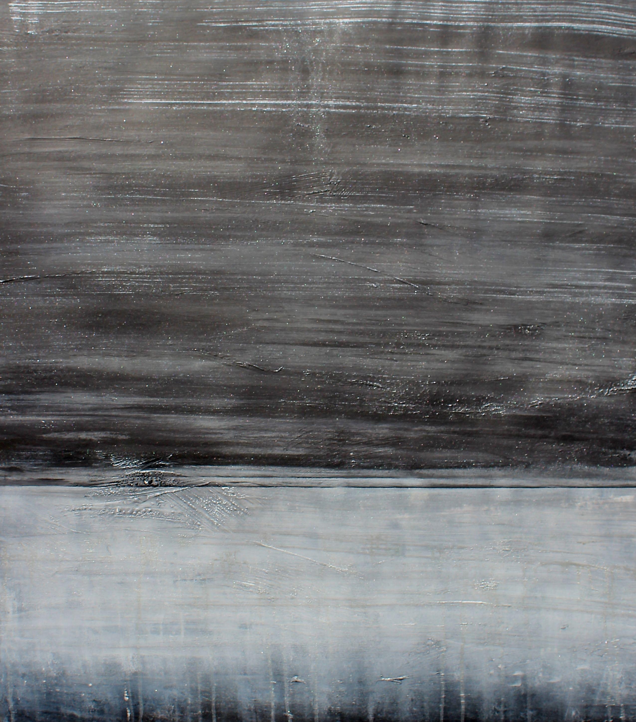 Night Illuminated, Painting, Acrylic on Paper