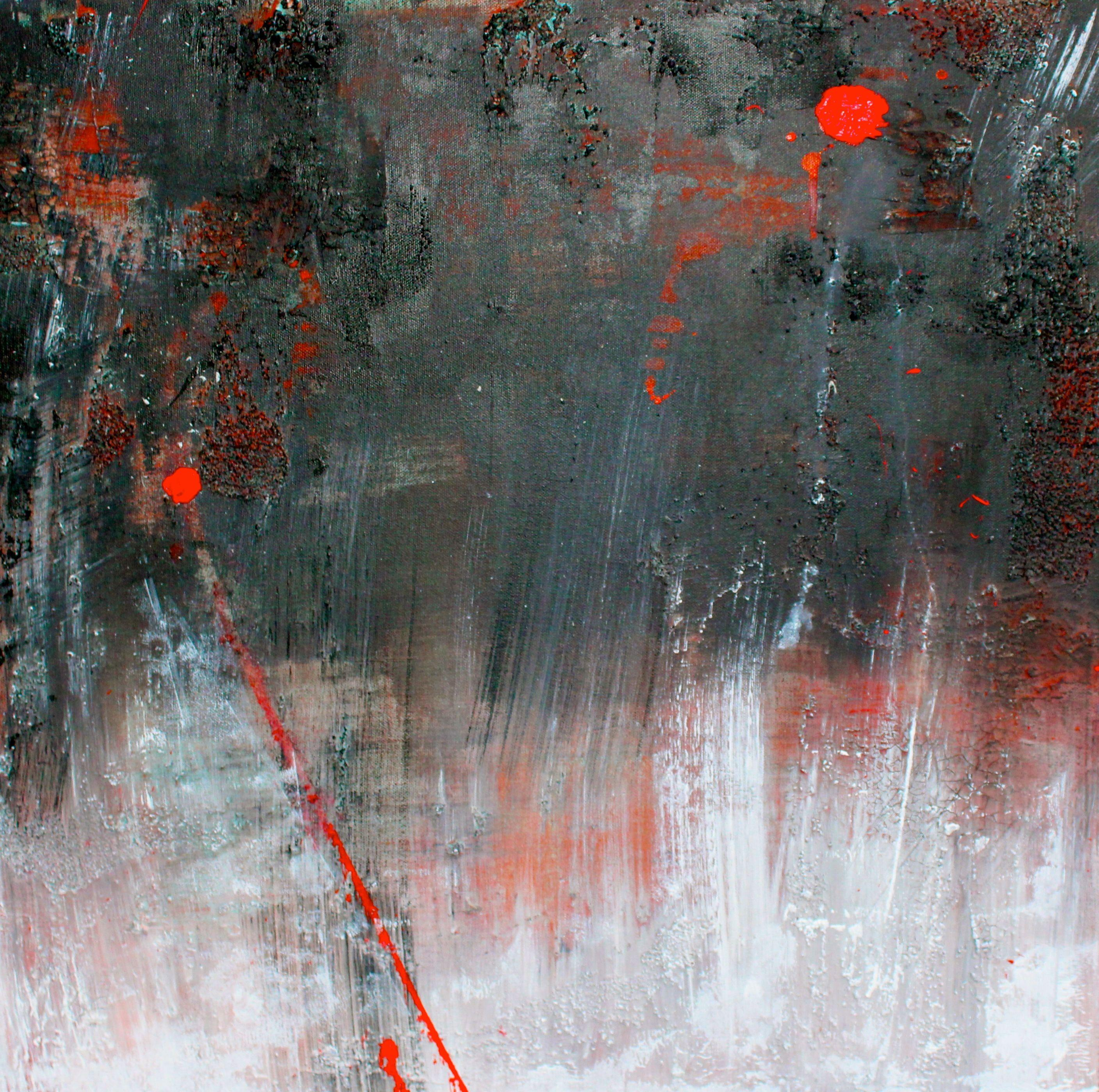 Winter in Volo Bog, Painting, Acrylic on Canvas