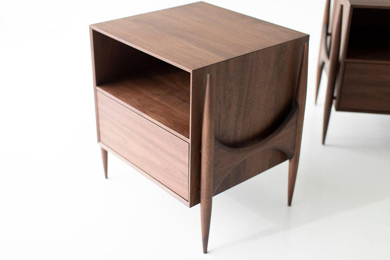 Laura Trenchard Modern Nightstands for Craft Associates Furniture In New Condition For Sale In Oak Harbor, OH