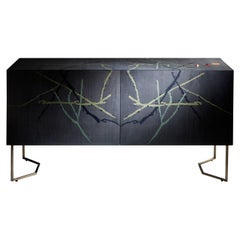 "Laurameroni ""Inverno"" inlaid limited edition sideboard by Fausta Squatriti"