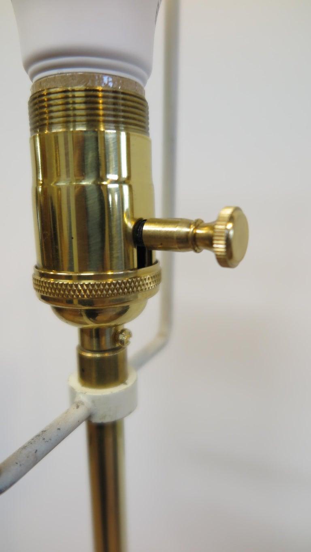Laurel Brass Floor Lamp For Sale 1