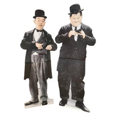 Laurel et Hardy Silhouette, From a Traveling Cinema, 1980-1997