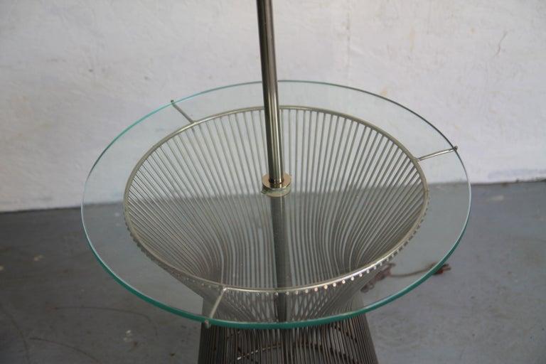 American Laurel Floor Lamp in the Style of Warren Planter For Sale
