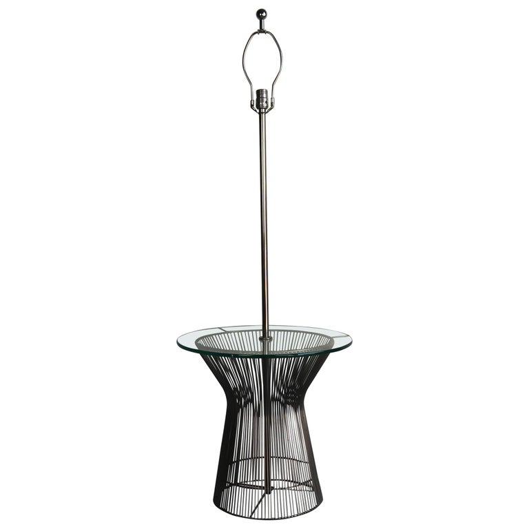 Laurel Floor Lamp in the Style of Warren Planter For Sale