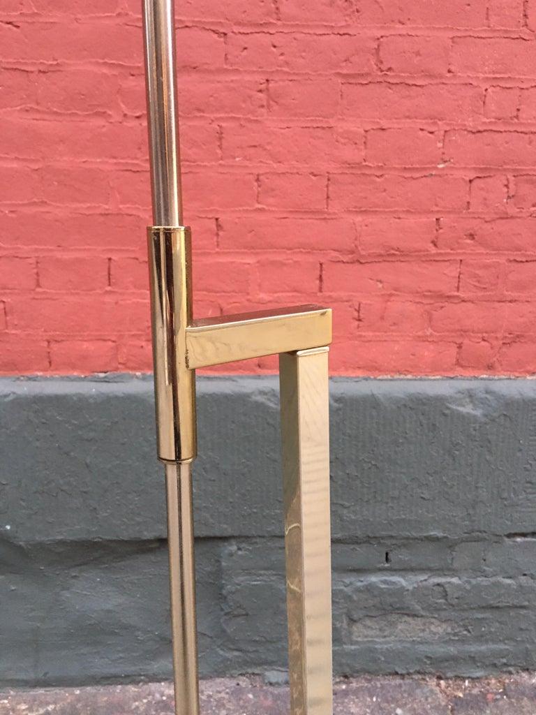 Mid-Century Modern Laurel Lighting Adjustable Floor Lamp For Sale