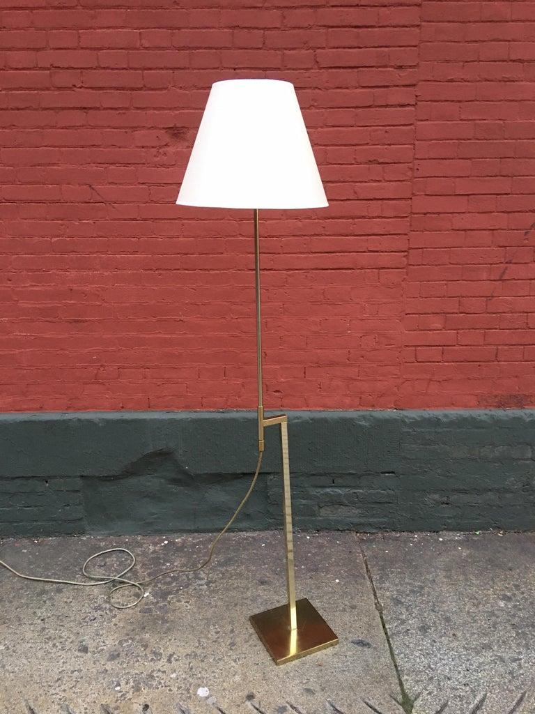 American Laurel Lighting Adjustable Floor Lamp For Sale