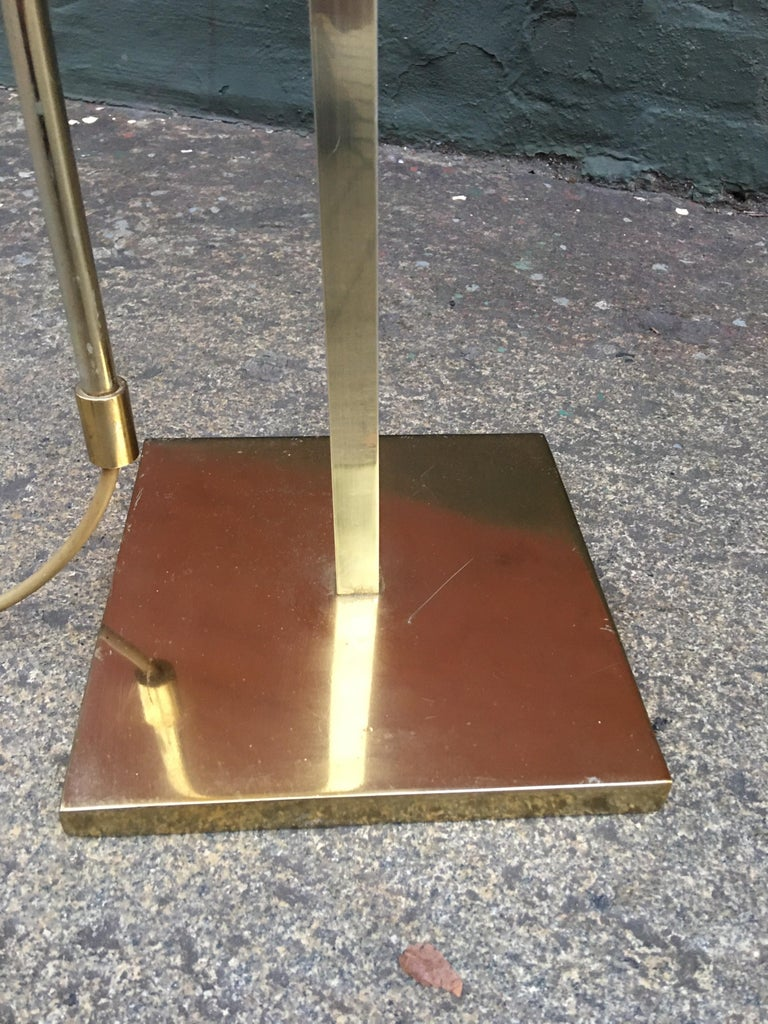 Mid-20th Century Laurel Lighting Adjustable Floor Lamp For Sale