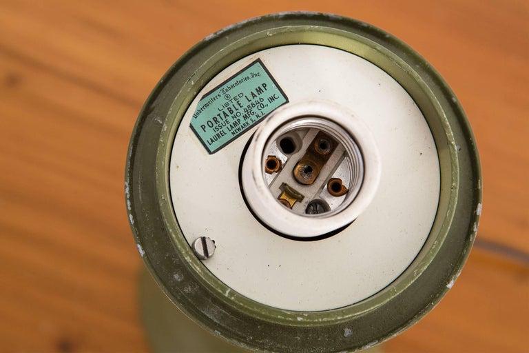 Mid-Century Modern Laurel Mushroom Lamp For Sale