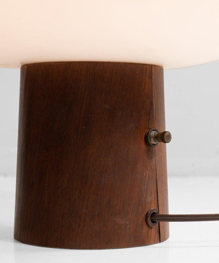 Veneer Laurel Mushroom Lamp For Sale