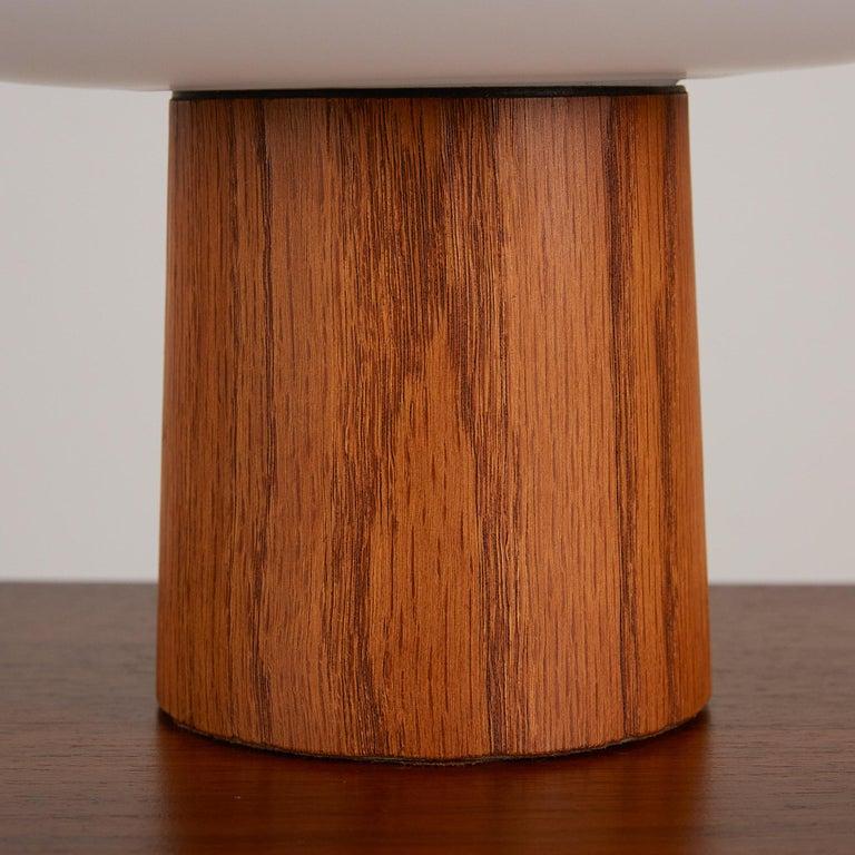 Brass Laurel Mushroom Table Lamp