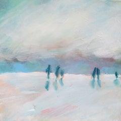Beach, Painting, Oil on Canvas