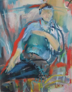 Figure, Painting, Oil on Canvas