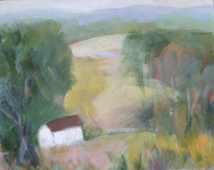 My Valley, Painting, Oil on Wood Panel