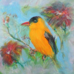 Song Bird, Painting, Oil on Canvas