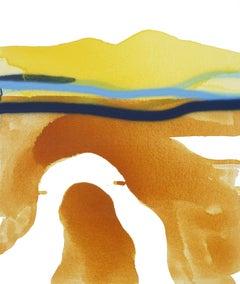 Autumnal Horizon II, Painting, Acrylic on Canvas