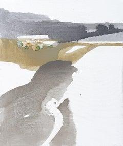 Burgeoning Spring I, Painting, Acrylic on Canvas